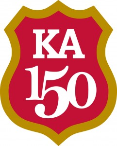 Kappa Alpha Order is 150 years old on Dec. 21st and Delta Epsilon Chapter will be 50 years old in May 2016