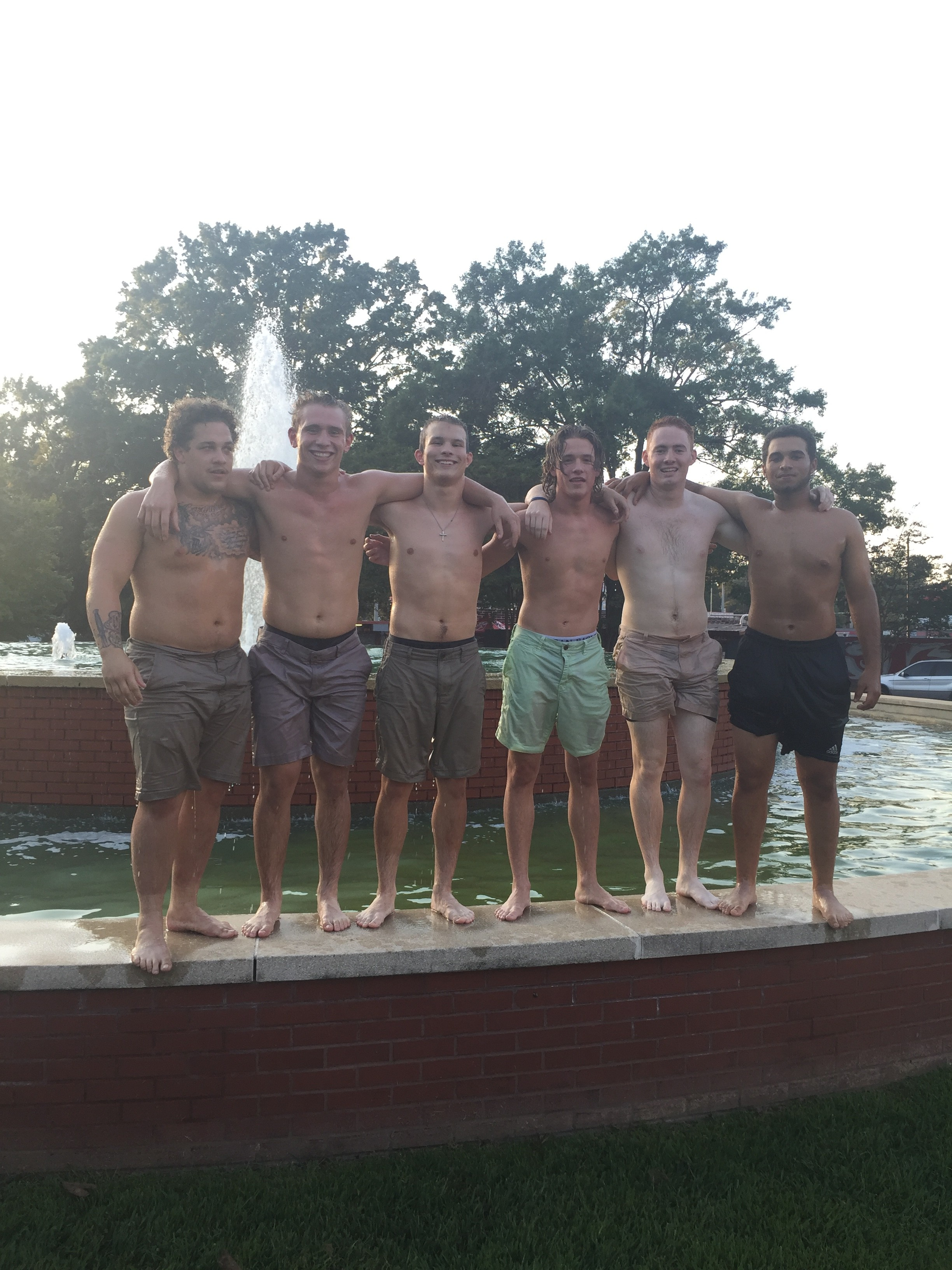 Fall RUSH see 7 potential Brothers for Delta Epsilon